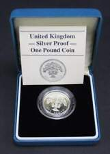Moneta in argento one pound - Silver proof - United Kingdom