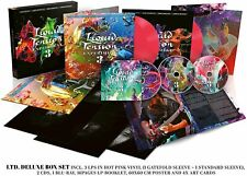Liquid Tension Experiment LTE3 HOT PINK DELUXE ED 3LP+2CD+BluRay