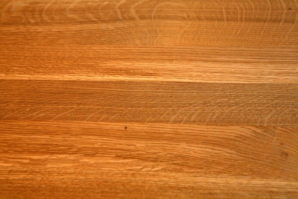 Gradino in legno rovere massello spessore 38 - 40 mm 2