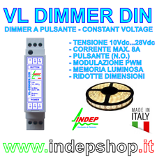 Dimmer a Pulsante Varialuce per Strip LED