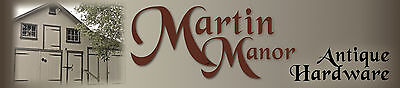 Martin Manor Antique Hardware