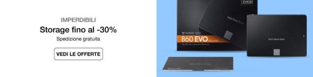 Hard disk e storage fino al -30%