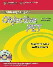 Objective PET Students Book with Answers with CDROM