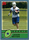 Rookie Jason Witten NFL Football Trading Cards