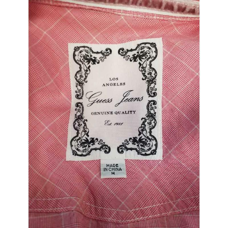 Camicia donna guess jeans rosa 3