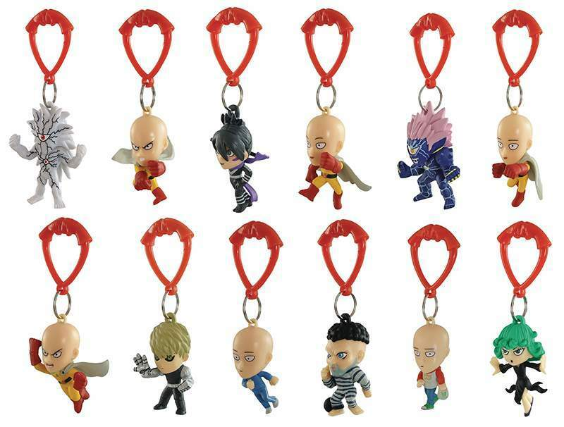 Just Toys Int One Punch Man Hanger Coll Display(24) Portachiavi 2