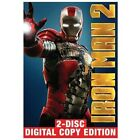 Iron Man 2 (DVD, 2010, 2-Disc Set, Includes Digital Copy) (DVD, 2010)