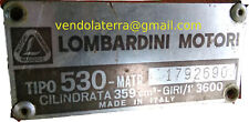 Disponibile motozappa Lombardini