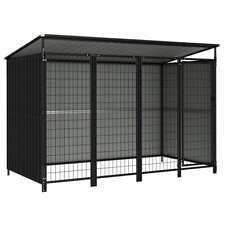 Box per Cani da Esterno 253x133x164 cm