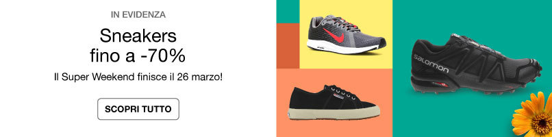 Superweekend Sneakers fino a -70%