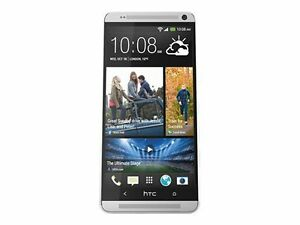 HTC-One-Max-16GB-Silver-CDMA-GSM-Single-SIM-MINT-FINGERPRINT-NOT-WORK
