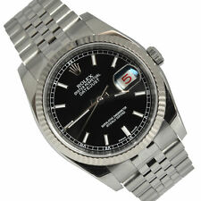 ROLEX Datejust 116234 black dial Full Set