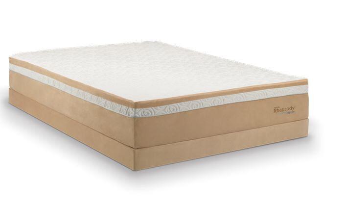 Sleep Number Bed Vs Tempurpedic >> Tempur-Pedic The RhapsodyBed Vs. Select Comfort Sleep Number 4000 | eBay