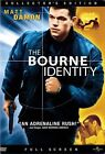 The Bourne Identity (DVD, 2003, Full Frame) (DVD, 2003)
