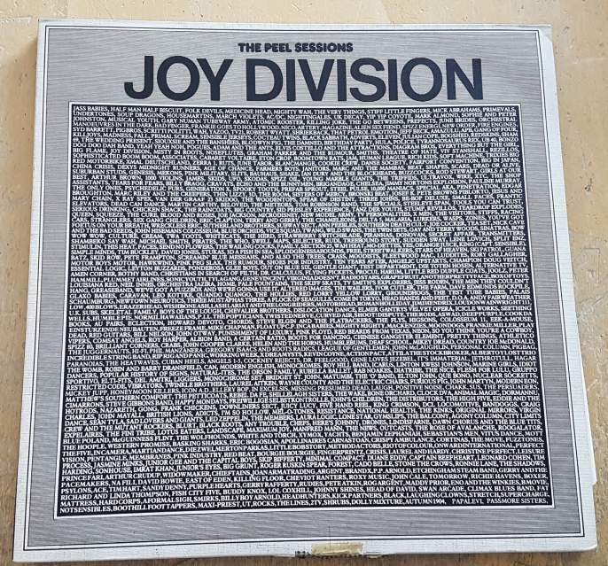 Joy division the peel sessions