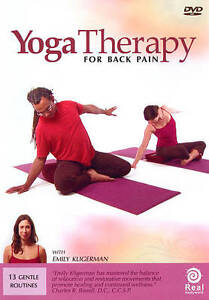 Yoga Therapy for Back Pain DVDs-Good Condition
