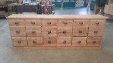 Cassettiera in legno vecchio cassetti porta biancheria