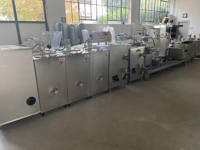 Complete industrial line for gelato industry used 5