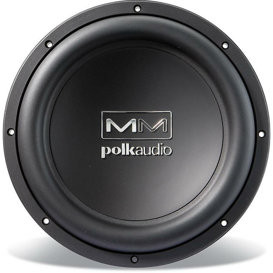 The polk audio company has undergone three years of intense research to bring forth a 10 inch subwoofer designed to offer