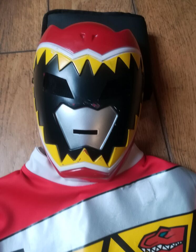 """Costume power rangers """"dino charge"""" (rosso)"""