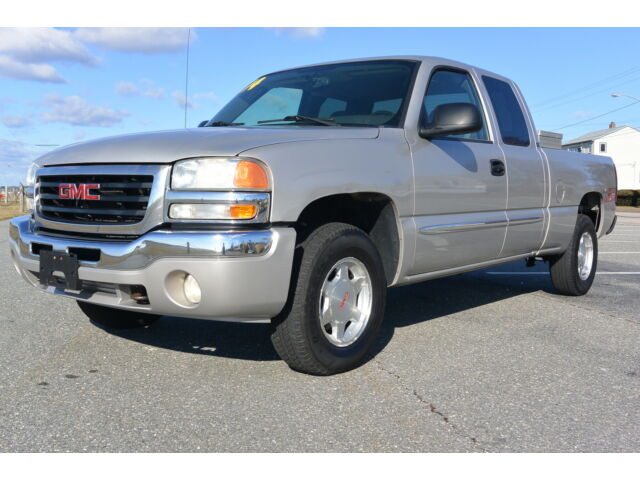 2004 gmc sierra z71 1500 4x4 extend cab sle like silverado. Black Bedroom Furniture Sets. Home Design Ideas