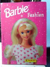 Album Panini BARBIE FASHION (1996), non completo,