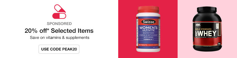Save on vitamins & supplements