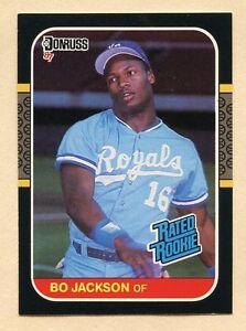 1987 Donruss Bo Jackson 35 Baseball Card