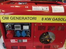 Generatore di corrente 8 kilovatt nuovo scontato 40%