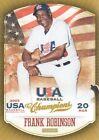 Panini Frank Robinson Baseball Cards