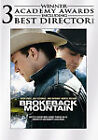Brokeback Mountain (DVD, 2006, Full Frame)