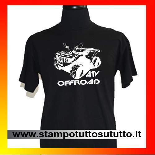 Maglietta, t-shirt, quad, atv, motocross, cross, can am, polaris, 4x4