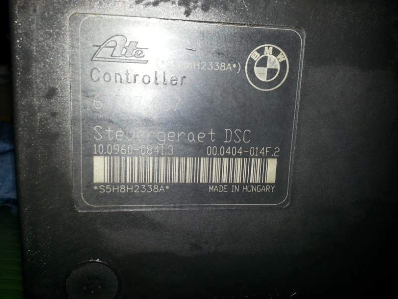 Centralina ABS BMW SERIE 1 2008 6787837 3