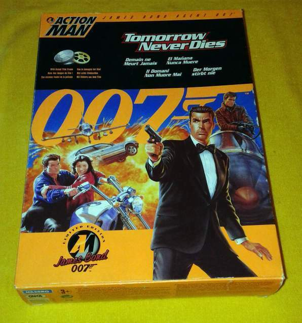 Action Man 007 Tomorrow Never Dies