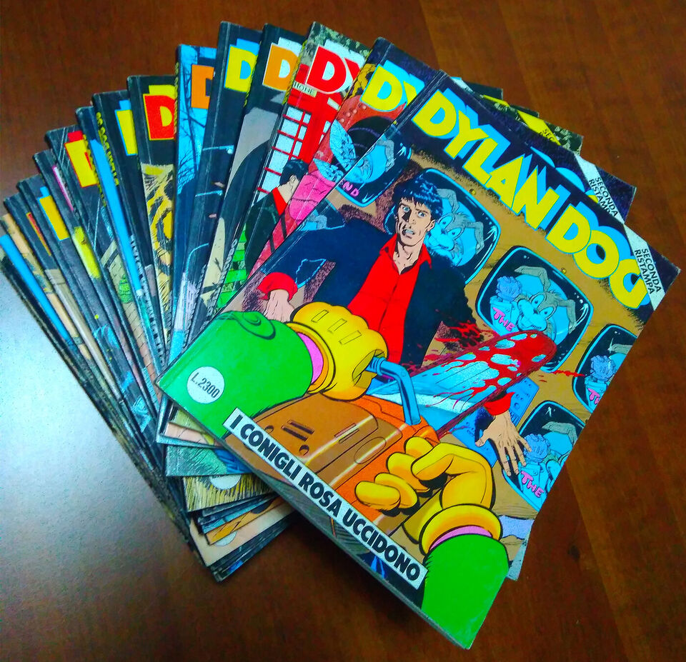 Lotto albi dylan dog seconda ristampa