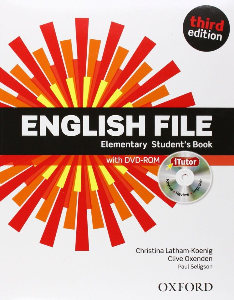 English File Elementary Third Edition Student's...