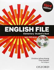 English File Elementary Third Edition Student's book + Workbook
