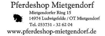 Pferdeshop Mietgendorf