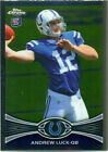 Refractor Andrew Luck NFL Football Trading Cards
