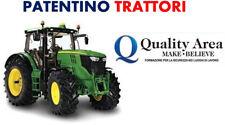 Patentino Trattori Agricoli e Forestali - RAVENNA