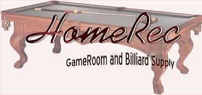 Home Rec Gameroom and Billiard Supl