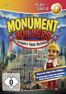PC Spiel Monument Builders: Empire State Building (PC, 2013, DVD-Box) USK 0, Neu