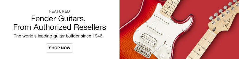 Fender Authorized reseller