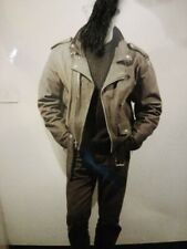 Chiodo Bomber Giacca di pelle Leather Jacket Biker Jacket