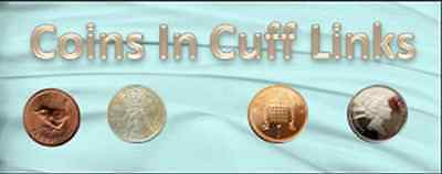Coins In Cuff Links