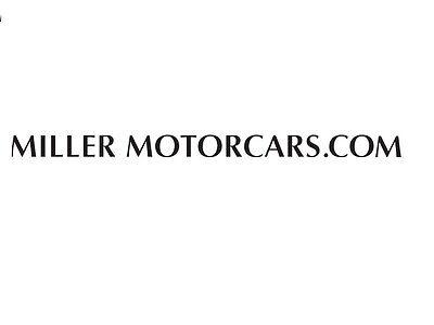 Miller MotorCars Parts
