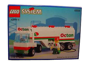 Lego-Town-6594-Gas-Transit-NEW-Sealed