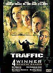 Traffic-DVD-2001-Michael-Douglas-Del-Toro-Zeta-Jones-FREE-SHIPPING