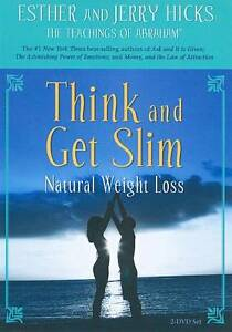 Think And Get Slim Natural Weight Loss DVD 2009 2 Disc Set