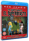 Rob Zombie Presents The Haunted World Of El Superbeasto (Blu-ray, 2010)